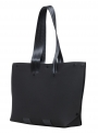 lommer eva two black tote still side
