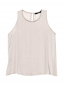 milla clack dusty pink lace top with shirt still 1