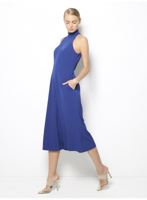 stelios koudounaris cropped blue jumpsuit CTS1241 side