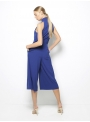 stelios koudounaris cropped blue jumpsuit CTS1241 back