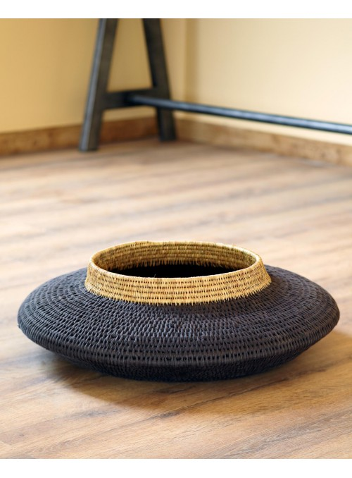 benu arts 1 Tiers Woven Floor Basket BANL0215 still
