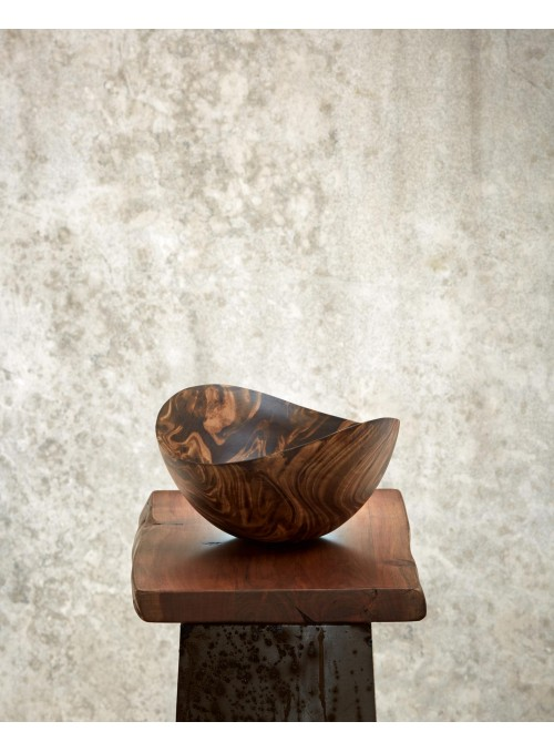 benu arts wooden bowl DEW002117 still