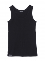 parthenis ribbed cotton tank top black 001011010 still