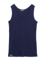 parthenis ribbed cotton tank top navy 001011010003 still