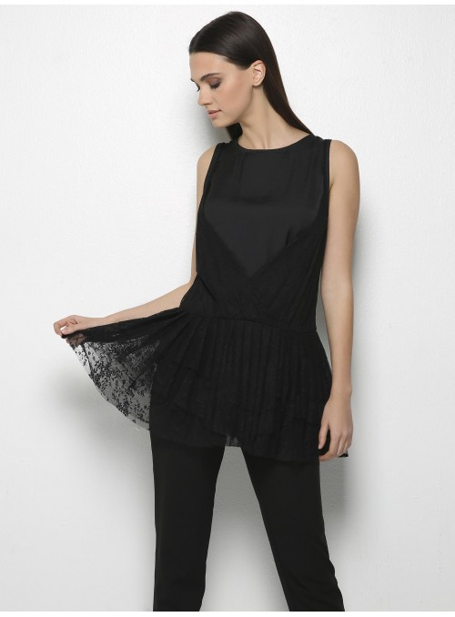 yves lace top black mills front