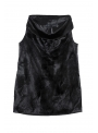 ioanna kourbela untouchable mini sack dress black still