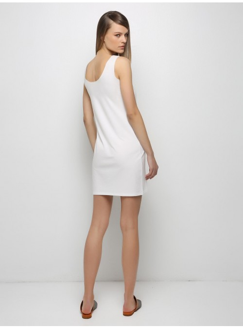 vital mini dress white ioanna kourbela
