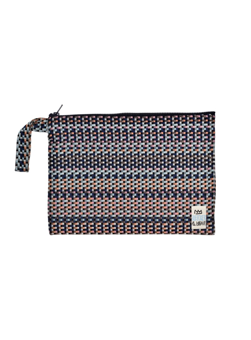 pixel glam clutch multicoloured bag big bleecker and love
